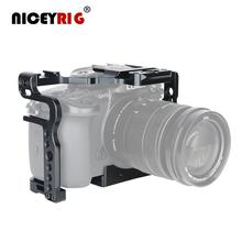 NICEYRIG gh5 gh5s Camera Case for Panasonic GH5 GH5S Camera Rig for Panasonic Lumix gh5s gh5 DSLR Cage Lumix gh5 Cover Video Rig