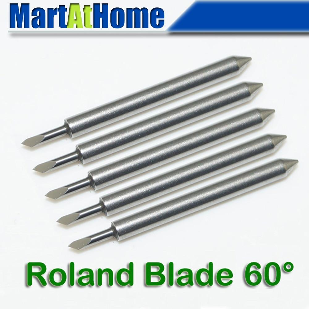 Nuovo plotter da taglio da 10 gradi 10 pezzi / lotto Roland Blade Spedizione gratuita # SM483 @CF