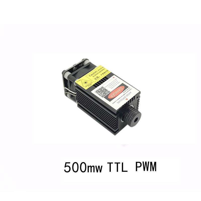 12v-24v Laser Module Measured 500mw 0.5w High Power 405nm Blue Engraving Machine Accessories Ttl Pw