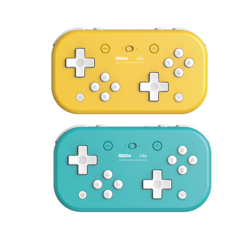 For 8BitDo Lite Wireless Bluetooth Controller Gamepad Joystick for Tetris 2D Game for Switch Lite /Windows /Steam image
