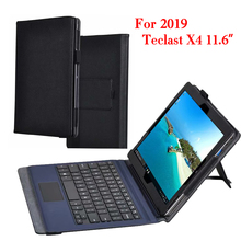 Черный Защитный складной чехол-книжка из зернистой ПУ кожи высокого качества для Teclast X4 11,6 дюйма, чехол для планшета, ПК
