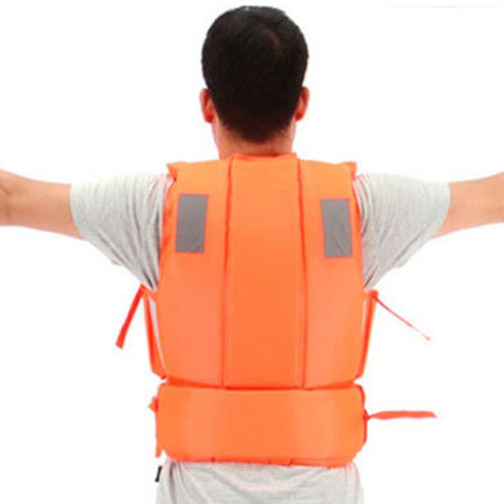 Профессиональный спасательный жилет купальники полиэстер спасательный жилет Colete Salva-vidas для водных видов спорта плавание дрейфующий серфи...