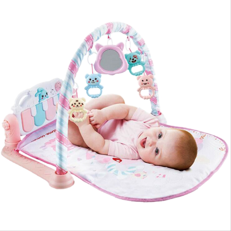 Baby Play Mat Baby Gym Toys Soft Lighting Rattles Musical Toys For Babies Educational Toys Play Piano Gym Baby Gifts