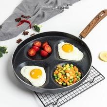 3/4-Four-Hole Grill-Pan Frying Pans Ham Eggs Cooking-Pot Pancake-Maker Breakfast Non-Stick