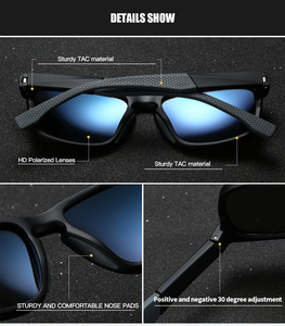 Image 3 - RoyalHot Men Women Elastic Cosy TR90 Frame Polarized Sunglasses Driving Sun Glasses Shades Oculos masculino Male 90080