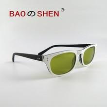 Водительские очки ночного видения, поляризованные солнцезащитные очки, белая большая коробка, солнцезащитный козырек, индивидуальные солнцезащитные очки, женские очки для улицы
