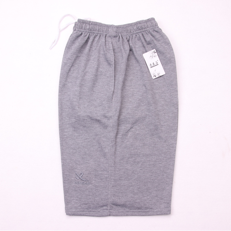 Middle-aged Casual Outer Wear Shorts Knitted Fabric Large Trunks Amount 10 Yuan Model MEN'S Fifth Pants Men's Beach