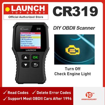 Uruchomienie X431 Creader 319 OBD2 skaner obd 2 narzędzie diagnostyczne do samochodów CR319 Auto ODB czytnik kodów samochodu urządzenia do skanowania PK ELM327 OM123 AD310 tanie i dobre opinie LAUNCH obd2 scanner Portugalski Niemiecki Włoski Rosyjski Hiszpański Angielski French Czytniki kodów i skanowania narzędzia