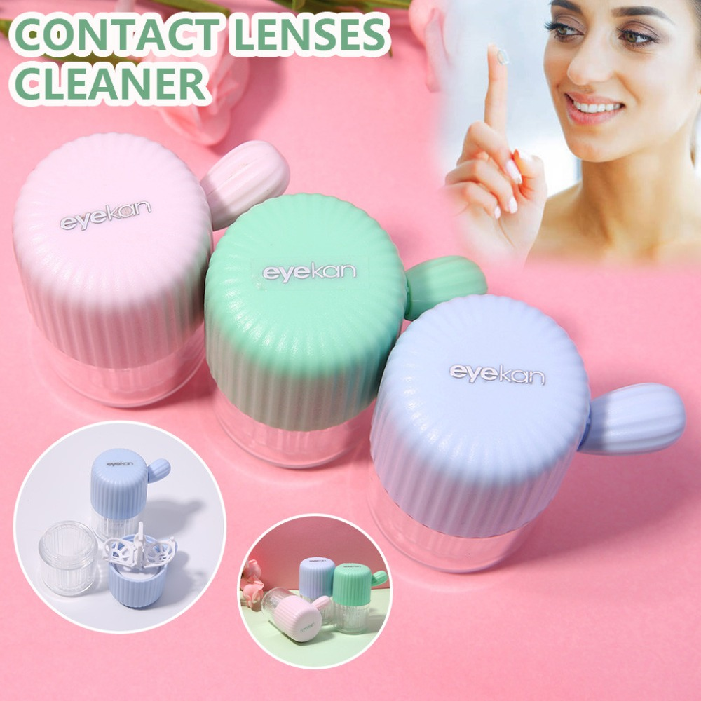 Pull Type Contact Lens Cleaner