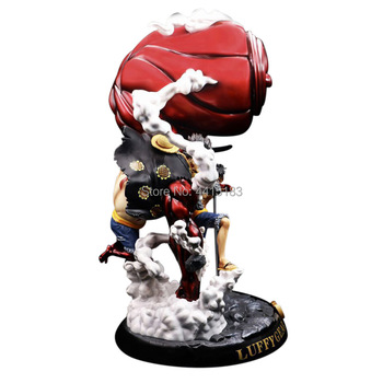 Anime One Piece GK Luffy Gear 4 Hight Quality Toy Model 58 CM PVC Action Figure Doll Children Gift Collection model fans one piece 28cm mr 1 daz bones gk resin figure toy for collection handicrafts