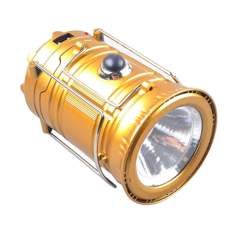 Camping Retro Stijl Oplaadbare Solar Draagbare Lamp Multi-functionele LED Lantaarn China Plastic Super Helder Licht