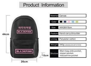 USB зарядка противокражный водонепроницаемый рюкзак для ноутбука kpop сумка с принтом рюкзак для подростков мальчиков и девочек школьная сумка дорожный рюкзак