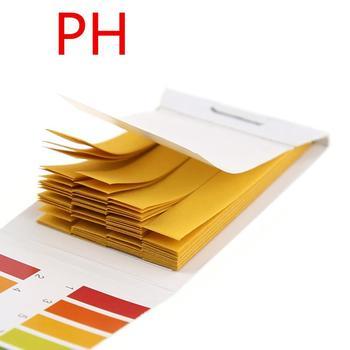 80 pasków opakowanie paski do testowania PH profesjonalne 1-14 pH papierek lakmusowy paski do testowania ph kosmetyki wodne paski testowe kwasowości gleby tanie i dobre opinie CN (pochodzenie) PH Litmus Indicator Dropshipping Wholesale