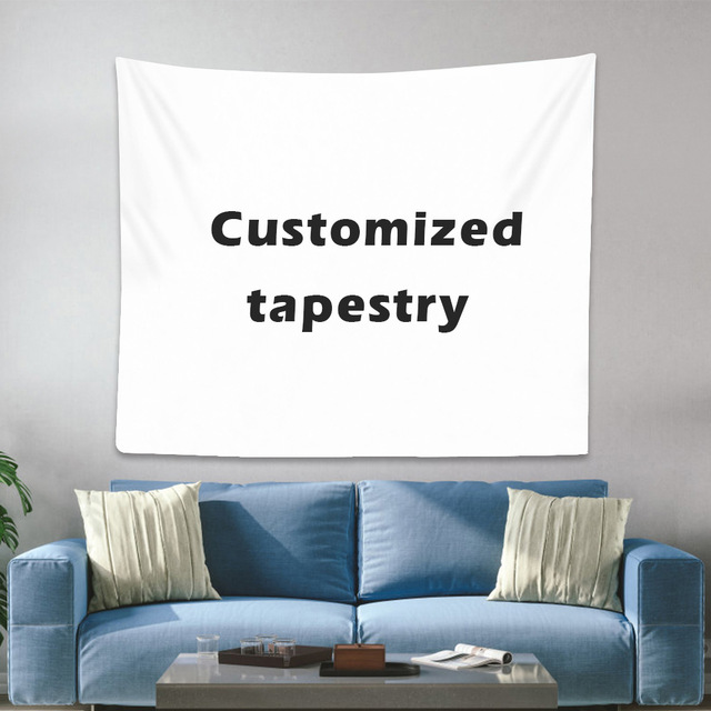 Custom tapestry Boho Mandala tapestry wittcraft wall tapestry print your photos Hippie tapestry tapestry