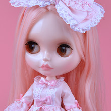 Neo Blyth Doll NBL Customized Shiny Face,1/6 BJD Ball Jointed Doll Ob24 Doll Blyth for Girl, Toys for Children