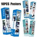 10 шт./компл. Untamed HD Большие плакаты Чэнь Цин Лин Ван йбо Сяо Чжан актер Mo dao zu shi настенные художественные декорации DIY