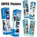 10 pz/set Il Selvaggia HD Poster Grandi Chen Qing Ling Wang yibo Xiao Mo dao zu shi Parete Attore zhan immagine di arte Della Decorazione di DIY