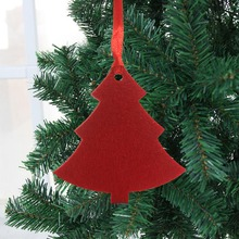 Get more info on the 10/pcs Merry Christmas  Non-Woven Decorations  With Hanging Ropes Xmas Tree Drop Ornaments Holiday Home Bar Shop DecorCM