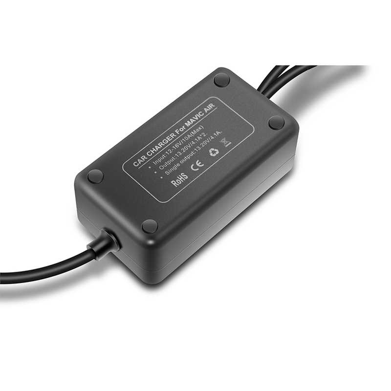 DJI Mavic Air автомобильное зарядное устройство Дрон батарея Быстрая зарядка зарядное устройство для путешествий наружное зарядное устройство для DJI Mavic Air летная батарея