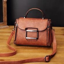 Luxury Designer Vintage Bags For Women 2020 Pu Leather Tote Handbag Woman Messenger Ladies Shoulder Hand Bag Bolsa Feminina AB07