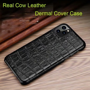 Image 5 - Genuine Leather Case For Samsung Galaxy S20 Ultra Plus Cover Luxury Alligator Funda Case For Samsung S20 Plus Ultra  Coque Case