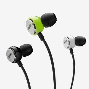 Image 5 - Edifier P293 In Ohr Kopfhörer High end Bass Headset Flashy stil HIFI Kopfhörer Noise isolation mit inline mic anti tangling Draht