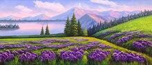 Ручная роспись 100% Высококачественная картина маслом на холсте