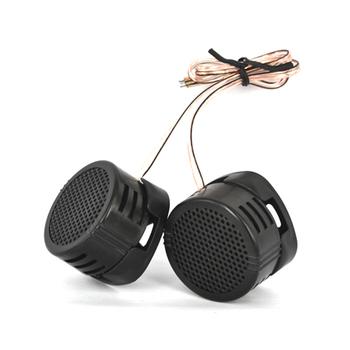 MINI głośnik wysokotonowy samochodowy sprzęt Audio jedwabiu Film dla modyfikacja samochodu 500W o wysokiej częstotliwości głośnik Audio samochodowy sprzęt Audio modyfikacji 2 sztuk tanie i dobre opinie kebidumei 97db SKU006895 Universal 12 v Plastic Tweetery 0 081kg Black SPEAKER TWEETER FOR CAR