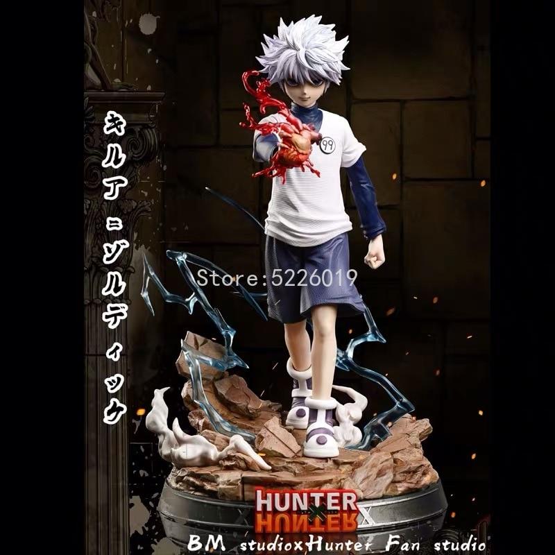 Аниме-фигурка Hunter x Hunter 27 см, игрушечная кукла фриксс и квалфи золдик, кукла фриксс