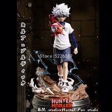 27cm caçador x caçador anime figura gon freecss & killua zoldyck figura de ação gon freecss figura killua zoldyck estatueta brinquedos