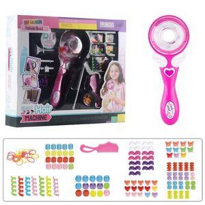 Automatic Hair Braiding Tool Electric Hair Braider Girls DIY Play House Toy Fashionable Hair Styling Twister Maker Kit Girl Birt