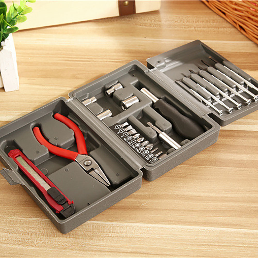 24-Piece Home Car Insurance Gift Set Hardware Tool Kit Repair Combination Tool Set 5