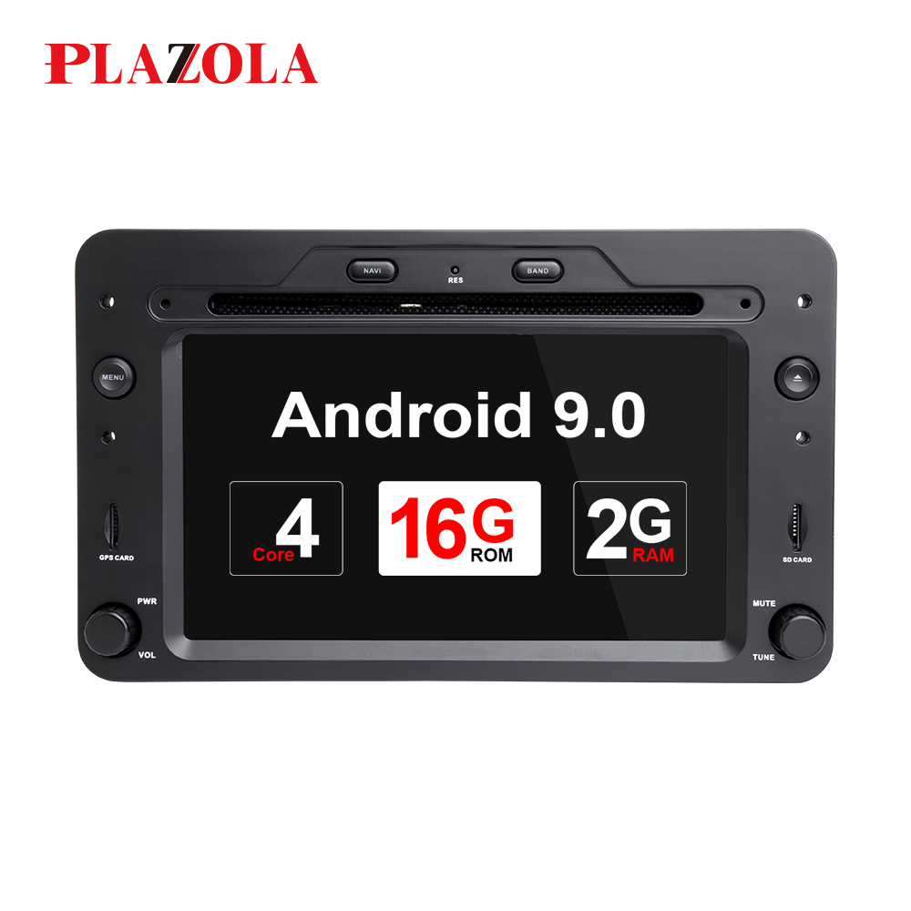 <font><b>Autoradio</b></font> <font><b>1din</b></font> <font><b>Android</b></font> 9.0 Car <font><b>DVD</b></font> Player For Alfa Romeo Spider Brera 159 Sportwagon 2006 Stereo GPS Navigation 4 Core DSP DAB image