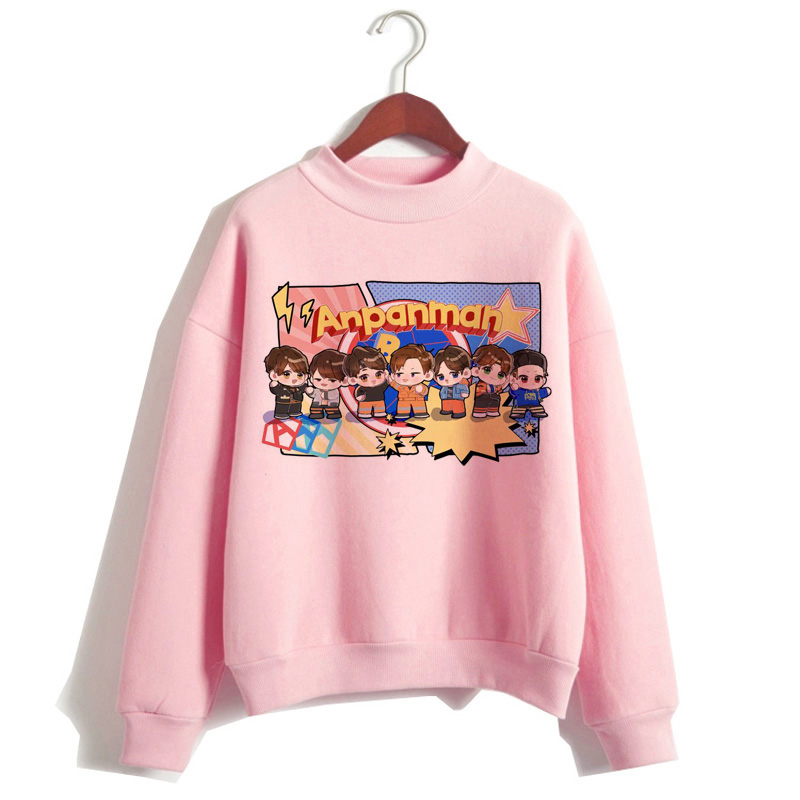 Bangtan Boys Hoodie Women Korean JIN SUGA J HOPE JIMIN V JUNGKOOK Sweatshirt K Pop Hood Kpop Clothes New Streetwear Hooded