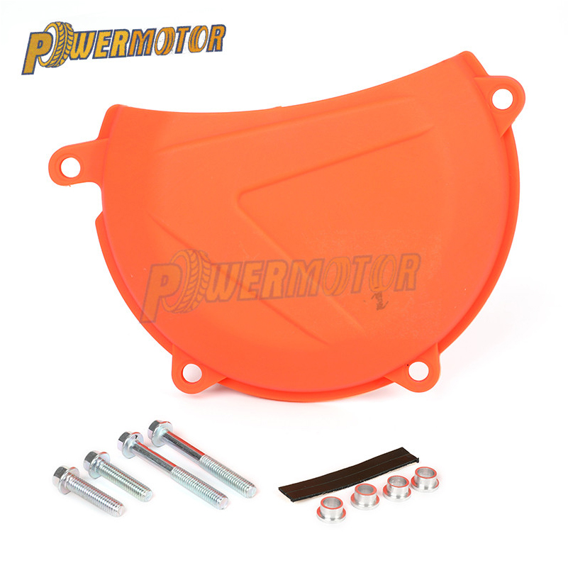 PowerMotor Motorcycle Clutch Protection Cover For <font><b>KTM</b></font> SXF/XCF 450 2013 2014 2015 <font><b>EXC</b></font>/XCW 450/<font><b>500</b></font> <font><b>2012</b></font> 2013 2014 2015 2016 image
