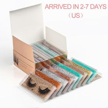 Mink Lashes Wholesale 5/20/30/40/100 Pairs 3D Mink Eyelashes Faux Cils Makeup Dramatic False Eyelashes In Bulk Natural Lashes 1