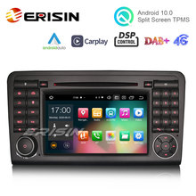 GPS Ml-Class Carplay Android 10.0 W164 Dvd-Player Benz 4G Erisin for DAB ES8183L 7-DSP