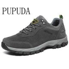 PUPUDA baskets de randonnée pour hommes, chaussures de sport classiques, antidérapantes, grande taille, à la mode, nouvelle collection automne hiver, chaussures décontractées