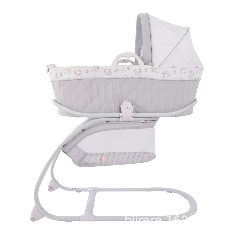 Baby Cot Portable Shaker Multi-purpose Newborn Lift Basket Baby Care Table Diaper Table Sleeping Basket Sleeping Bed