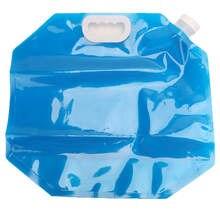 5 lcapacity dobrável saco de água acampamento ao ar livre leve balde insípido segurança acessórios acampamento