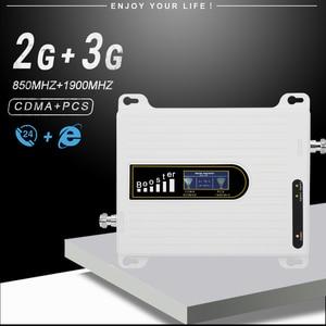 Image 2 - GSM 850 CDMA UMTS PCS 1900 Handy Verstärker LTE 850 PCS 1900 mhz Celular Signal Booster 2g 3g Cellular Repeater Repetidor