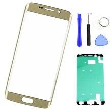 Écran de remplacement verre extérieur pour samsung S6 Edge Plus G928F G928 S6 Edge + écran LCD lentille tactile panneau de verre avant + outils
