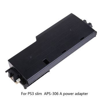 Power Supply Adapter Replacement for PS3 Slim Console APS-306 APS-270 APS-250 EADP-185AB EADP-200DB EADP-220BB цена 2017