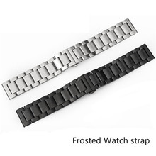 22mm Stainless Steel Watch Band for Samsung Gear S3 Classic Frontier Butterfly Buckle Strap Bracelet + Tool 22mm stainless steel strap for samsung galaxy 46 gear s3 classic frontier watch band wrist 20mm bracelet silver quick release