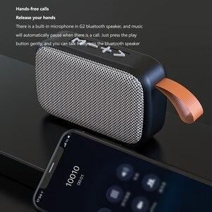 Image 4 - Taşınabilir kablosuz Bluetooth Mini hoparlör Stereo taşınabilir hoparlörler açık Subwoofer sütun hoparlör Bluetooth Dropship için
