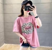 LJ40 2019 New Summer Women T Shirt for Lady Student Casual White Tops Women T Shirt Love Heart Print Tshirt Female