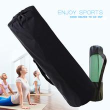1 sztuk wysokiej jakości siatka nylonowa centrum torba na matę do jogi regulowany pasek Pilates Carrier Fitness kulturystyki sprzęt sportowy cheap Poliester yoga mat 6 lat Gimnastyka Unisex