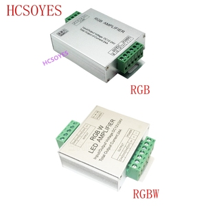 Image 1 - LED RGBW /RGB Amplifier DC12   24V 24A 4 Channel Output RGBW/RGB LED Strip Power Repeater Console Controller