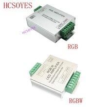 LED RGBW/RGB מגבר DC12   24V 24A 4 ערוץ פלט RGBW/RGB LED רצועת כוח מהדר קונסולת בקר
