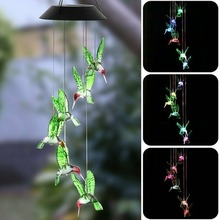 Color-Changing LED Solar Powered…